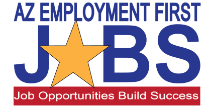 Logo for AZ employment first